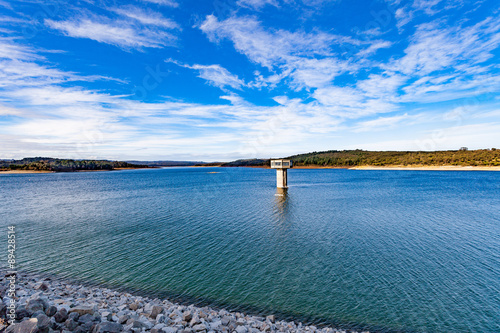 Magnificent Cardinia reservoir lake and water tower, Australia Poster Mural XXL