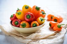 Bunte Mini-Paprika