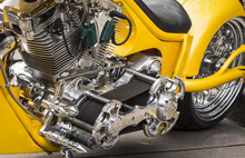 HDR Motorradmotor Details