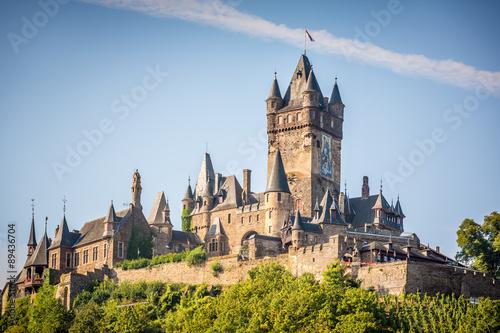 Photo Stands Castle Reichsburg Cochem