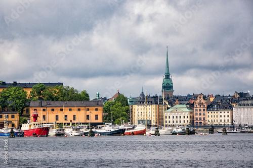 Photo  Blick auf Stockholm