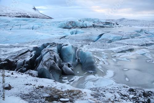 Foto op Plexiglas Arctica Gletscher in Isdland