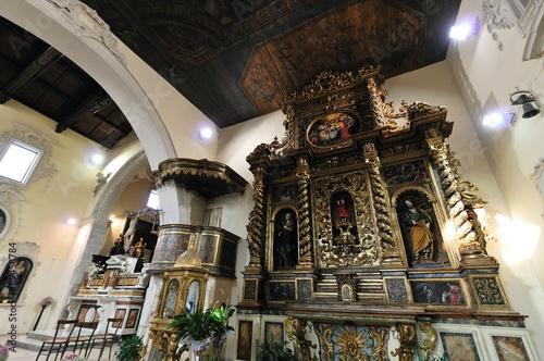 Borghi del Molise, Agnone (IS), Chiesa di Sant'Emidio Canvas Print