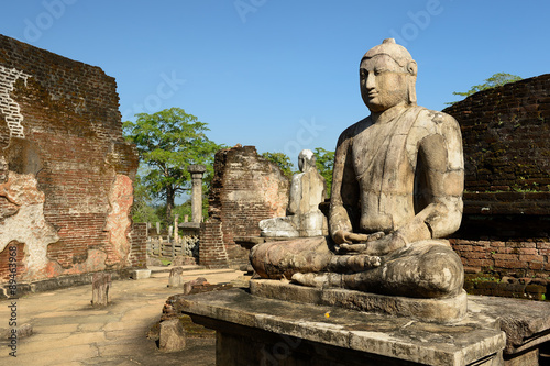 Printed kitchen splashbacks Place of worship Polonnaruwa ruin, Vatadage (Round House), Sri Lanka
