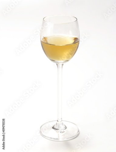 A glass of Aquavit (caraway-flavoured spirit) Canvas Print