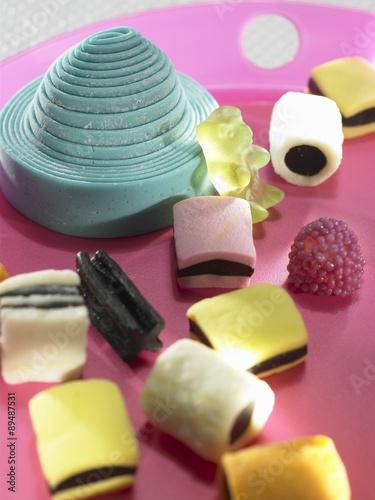 Foto op Aluminium Snoepjes Assorted liquorice sweets
