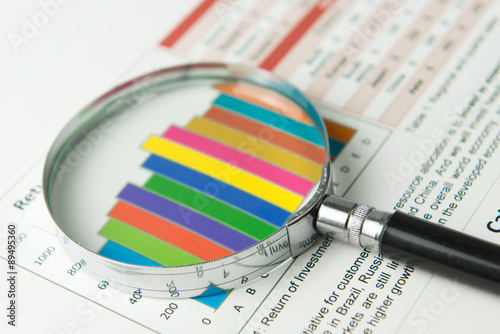Photo  Financial analysis