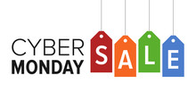 Cyber Monday Sale Website Disp...