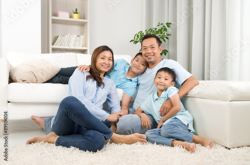 Fotografia  asian family