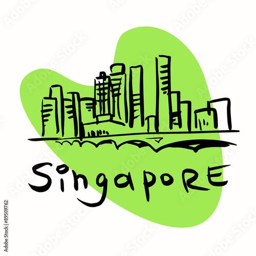 Photo  Singapore city