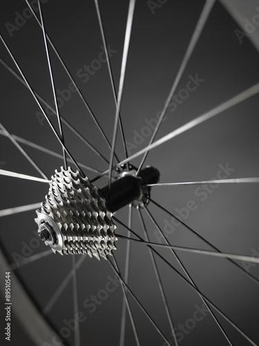 Foto op Plexiglas Fietsen bike gears cogs wheel - Stock Image
