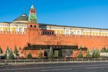 The Mausoleum Of Lenin And Kre...