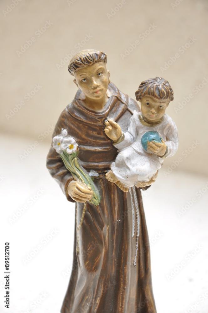 Valokuva  San Antonio di Padova figure