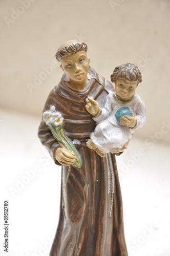 Fotografia  San Antonio di Padova figure