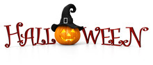 Halloween - Carved Pumpkin Wit...