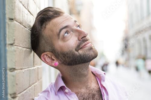 Valokuva Hipster men