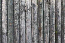 Wooden Background With Vertical Planks
