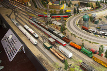 Miniature Trains And Model
