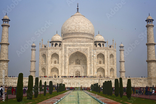 Photo  Taj mahal , A famous historical monument of India