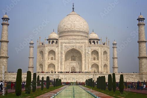 Photo  Taj mahal , A famous historical monument of India
