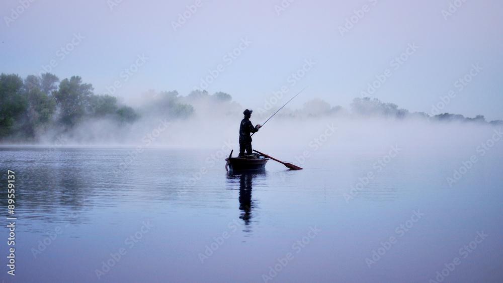 Fototapeta Рыбак