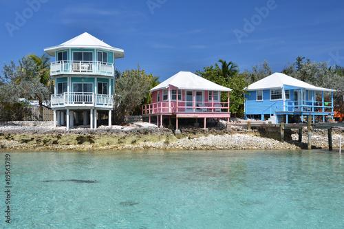 Klub jachtowy Staniel Cay. Exumas, Bahamy