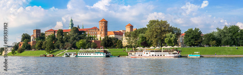 Wawel castle in Kracow #89583982