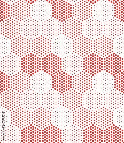 Okleiny na drzwi - Złudzenie optyczne  hexagon-illusion-pattern