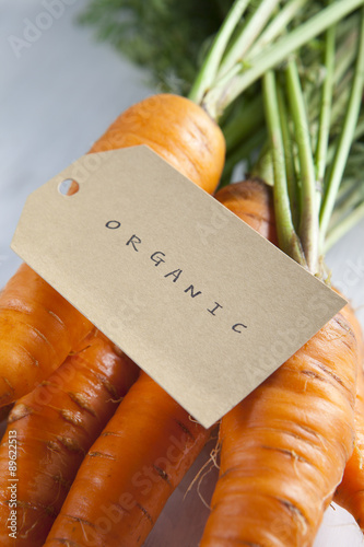 Canvas Prints Coffee beans carrot