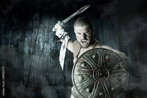 Foto  Gladiator Krieger