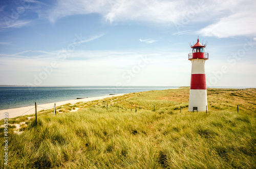 Leuchtturm in List (Sylt) Canvas