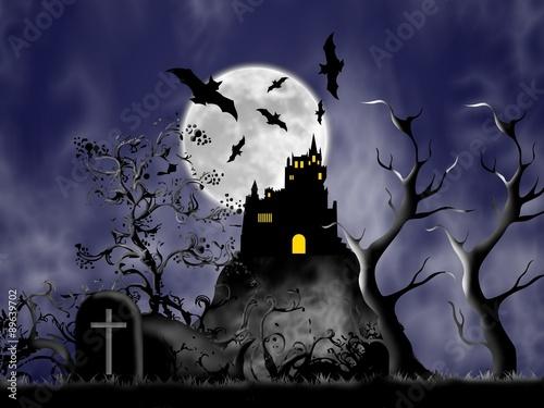 Valokuva La notte di Halloween