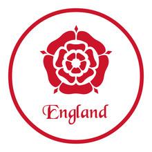 England Emblem With The Tudor ...