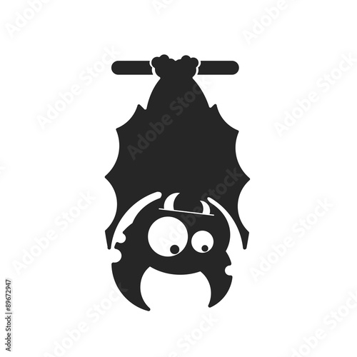 Photographie  Vampire Dracula for Halloween. Vector icon in style flat