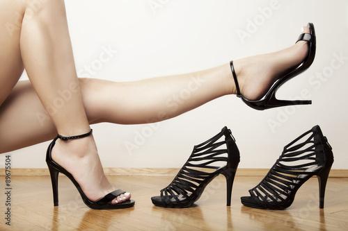 Fototapeta high heels