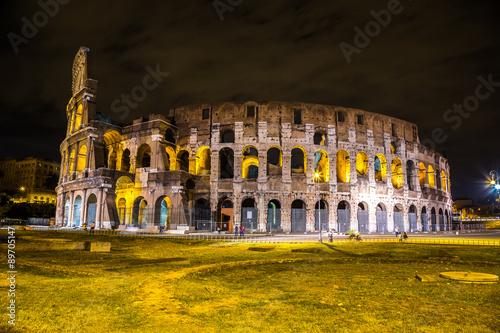 Deurstickers Amsterdam Colosseum in Rome, Italy