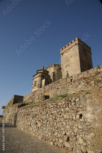 In de dag Monument Monumentos del municipio de Aracena, iglesia prioral
