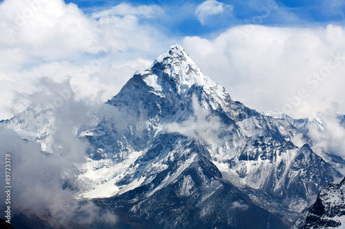 Photo  Ama Dablam Mount, Nepal