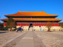 The Ming Tombs Near Badaling
