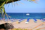 Fototapeta Fototapety z morzem do Twojej sypialni - Przepiękna plaża De Las Vistas w Los Cristianos na Teneryfie