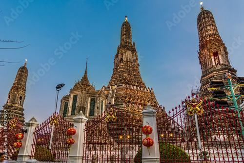 Wat Arun in Bangkok or Temple of the Down Wallpaper Mural