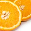 Isolated image of an orange