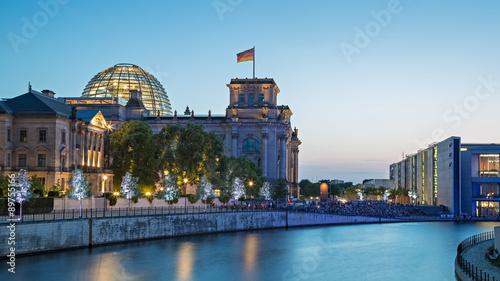 Spoed Fotobehang Berlijn Berlin Reichstag