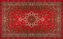 Old Persian Carpet With Patter...