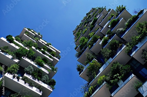 Fotografie, Obraz  Bosco verticale Milano