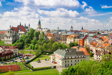 Panorama Of Old Town In City O...