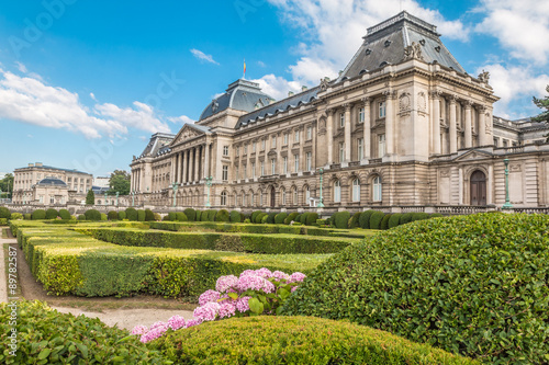 Foto  The Royal Palace in Brussels