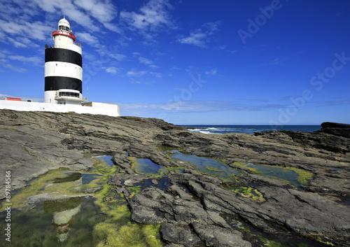 Foto op Aluminium Vuurtoren Hook Lighthouse at Hook Head, County Wexford, Ireland.