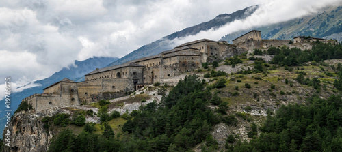 Canvas Prints Fortification Paysage montagne forts