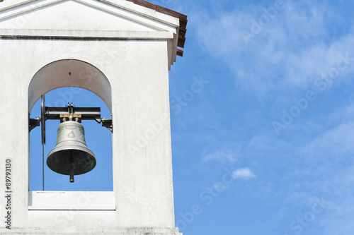Cadres-photo bureau Edifice religieux Small bell tower with a bell of a country church
